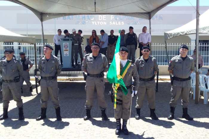 Prefeito Éden participa de solenidade de aniversário do 11° Batalhão de Polícia Militar