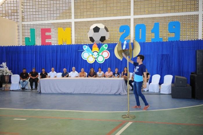 Jogos Escolares de Monteiro são abertos na manhã desta segunda-feira