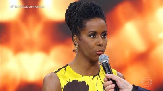 Após ser criticada por colega, jornalista vence Troféu Domingão do Faustão