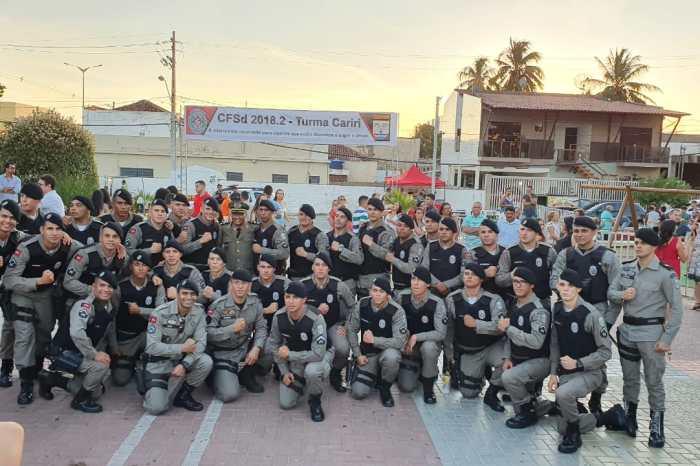 Polícia Militar realiza formatura de 31 novos soldados no Cariri paraibano