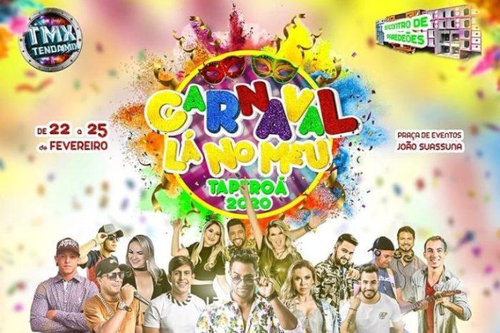 Prefeito de Taperoá anuncia programação do carnaval 2020, prévias começam em janeiro