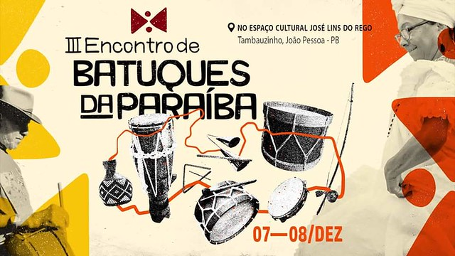 Encontro de Batuques da Paraíba acontece neste final de semana