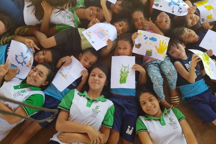 Creche Fernando Paraguay recebe projeto social dos alunos do IFPB em Monteiro