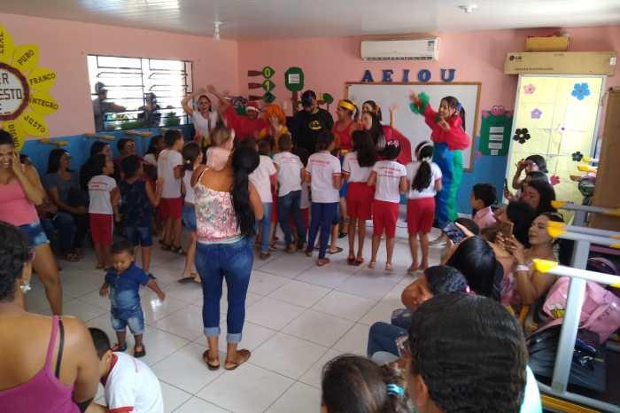 Escola Municipal João de Sousa em Sumé encerra ano letivo com diversas atividades