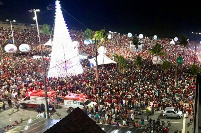 Natal de Luz leva shows religiosos à praia de Tambaú