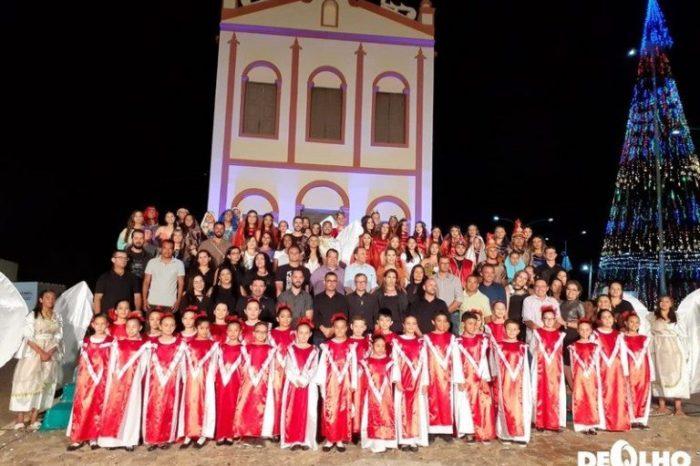 Cantata Natalina em São Domingos do Cariri encanta público e é encenada por cerca de 200 jovens e crianças