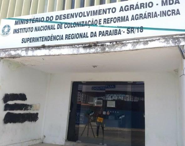 MPF investiga precariedade na sede e viaturas do Incra na PB