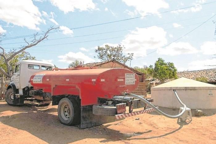 MAIS ÁGUA NO CAMPO: Carros Pipa abastecem 394 Cisternas e levam água para quase 15 mil pessoas