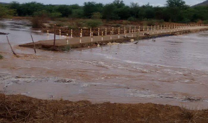 Cariri registra mais chuvas e Rio Paraíba amanhece com forte enchente
