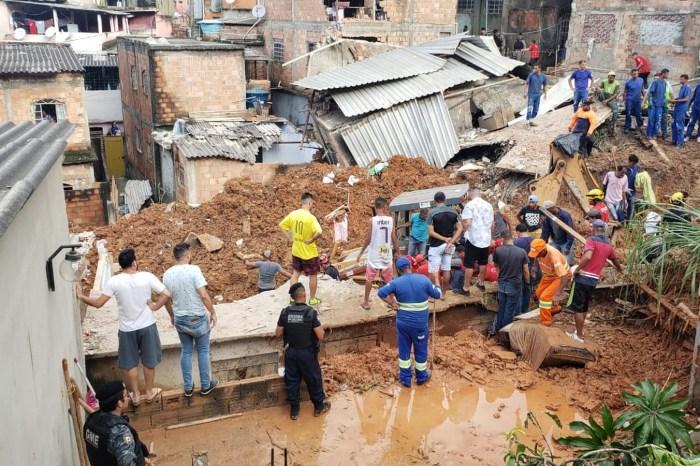 Defesa Civil confirma 30 mortes em MG por causa da chuva