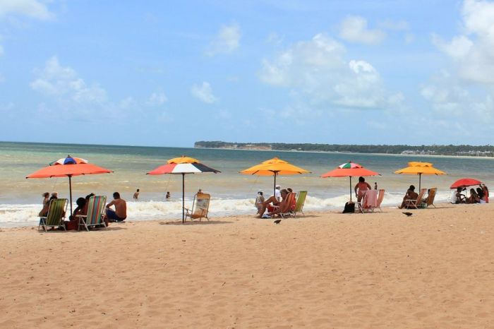 Sudema classifica quatro trechos de praias do litoral como impróprias para banho