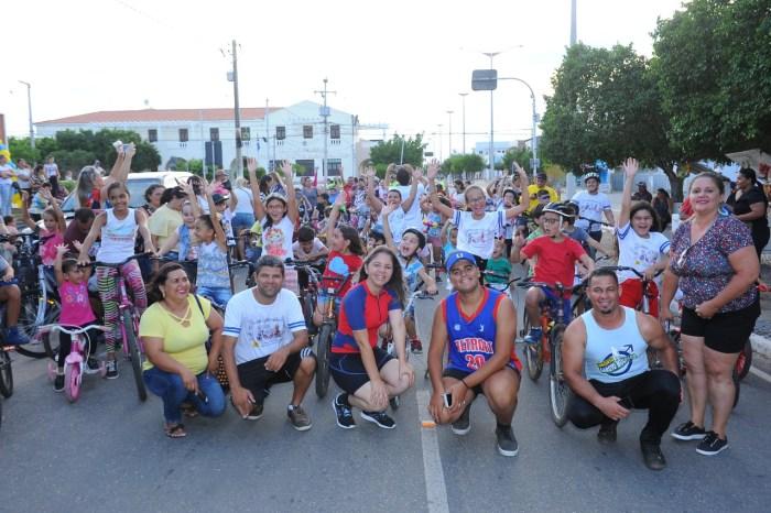 Pedala Kids agita Monteiro no domingo com a presença de ciclistas mirins