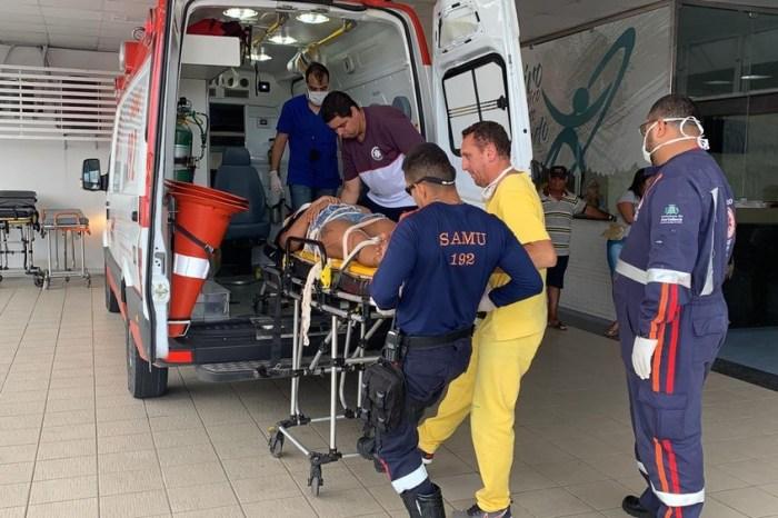 Mulher cai de segundo andar de prédio em João Pessoa