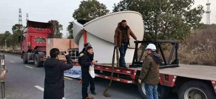 Telescópios para Observatório Espacial em Juazeirinho são embarcados da China