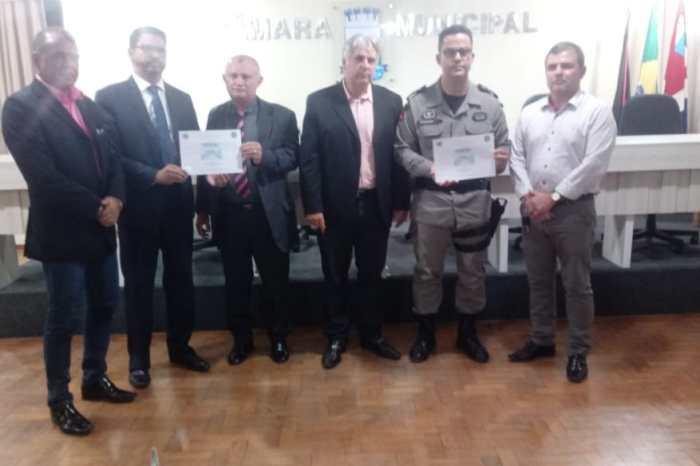 Câmara de Monteiro realiza sessão especial em homenagem as forças de segurança pela redução dos CVLI