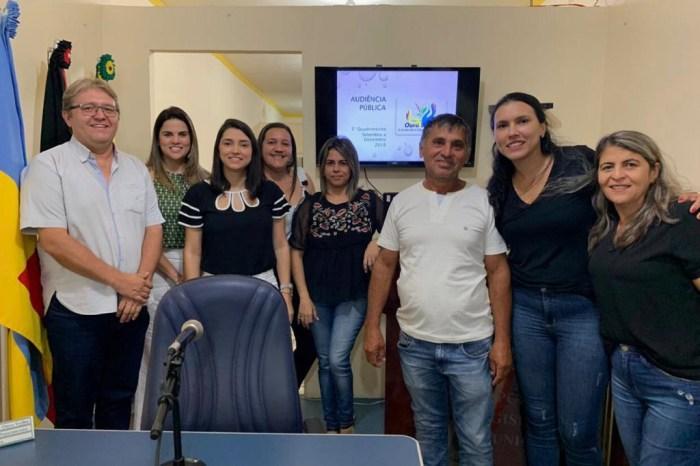 Secretaria Municipal de Saúde realiza Audiência Pública em de Ouro Velho