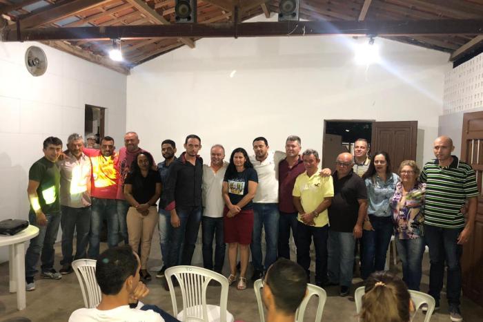 """Sob o comando de Valmi Oliveira, """"Movimento 65"""" oficializa diretoria em Coxixola e se prepara para disputar eleição"""