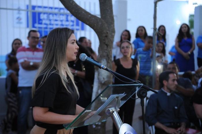 Prefeita Ana Lorena entrega reforma e ampliação da USF 04 da Vila Santa Maria, em Monteiro
