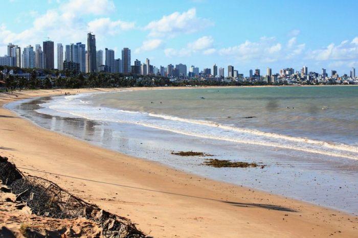 Três praias de JP estão impróprias para banho no fim de semana