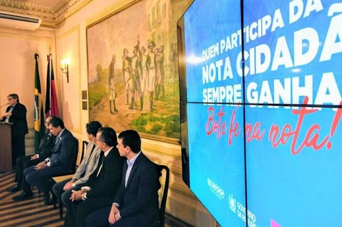 Governo entrega prêmios da Nota Cidadã e realiza 2º Sorteio