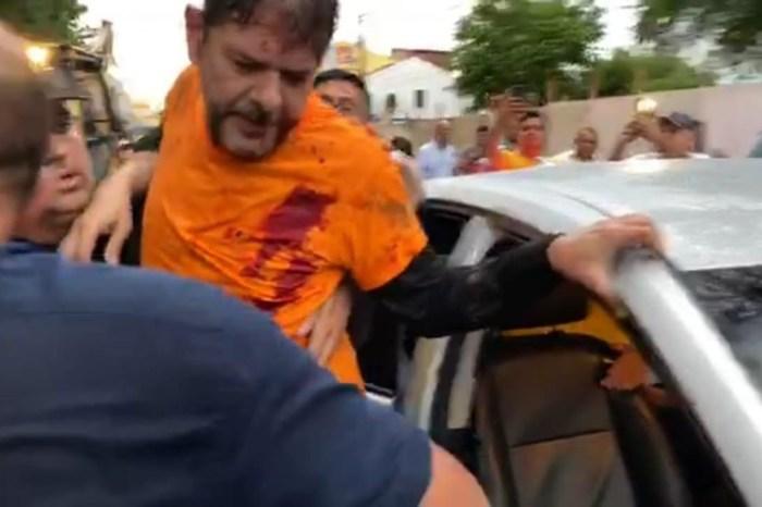 Senador Cid Gomes tenta entrar no 3ºBPM-CE e é baleado