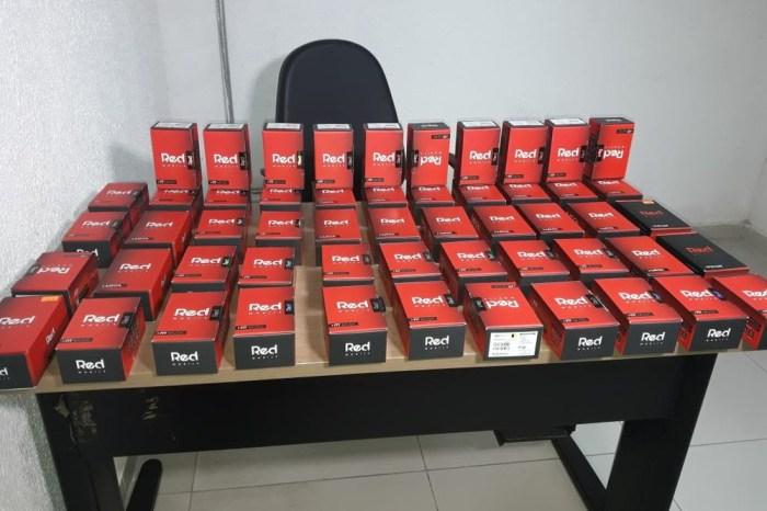 Grupo é preso e 100 celulares são recuperados na PB