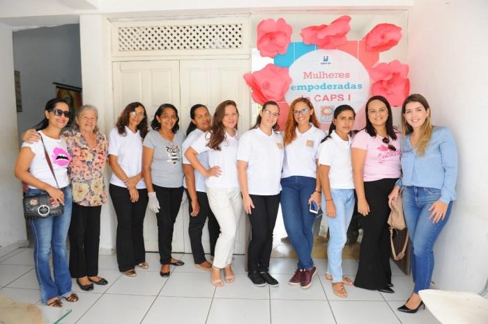 Secretaria de Saúde realiza várias atividades e atendimentos em comemoração ao Dia da Mulher