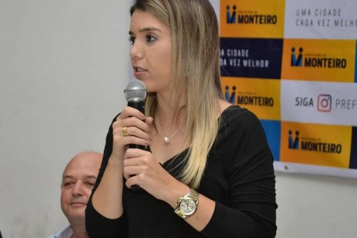 Prefeita de Monteiro repudia pronunciamento do presidente e segue com plano de contingência