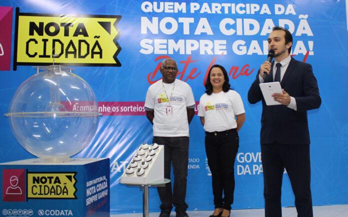 Nota Cidadã realiza 3º sorteio e divulga nomes dos ganhadores