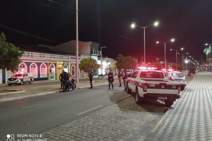 Polícia Militar realiza operações Visibilidade e cidade segura no Cariri