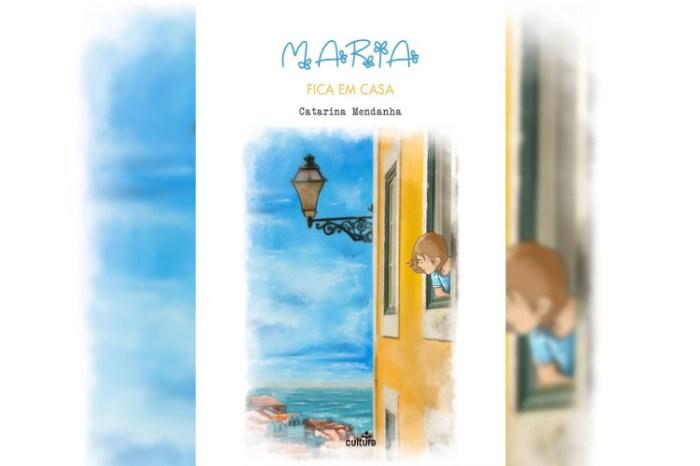 """""""Maria fica em casa"""": livro digital explica a Covid-19 às crianças"""