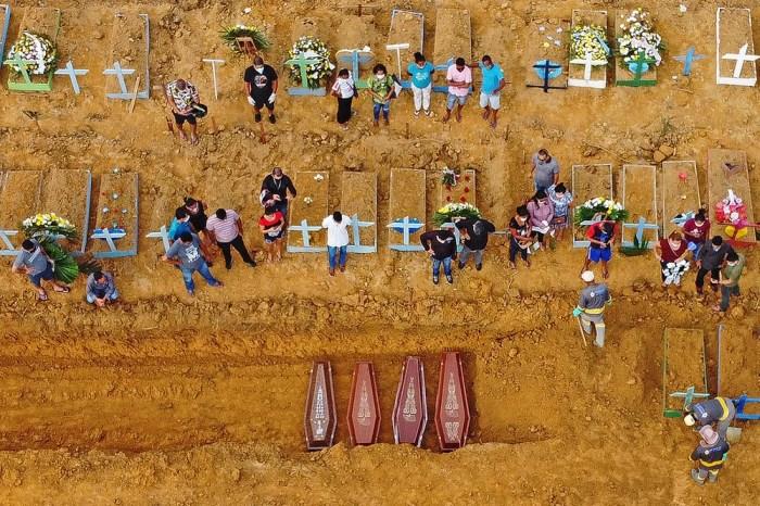 Covid-19: Com 140 enterros em 24 horas, Manaus bate recorde