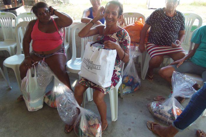 'Guardiões da Periferia' arrecada alimentos para doação