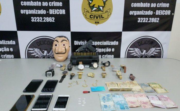 Polícia prende no Rio Grande do Norte suspeitos de assaltarem balearem policial no Cariri