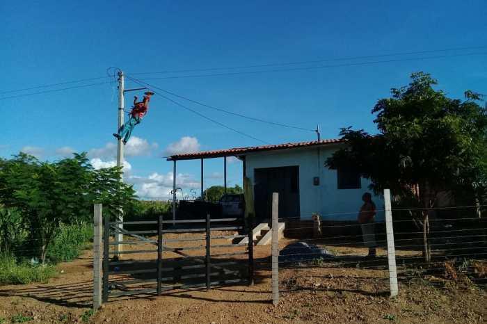 """""""MAIS LUZ NO CAMPO"""": Programa leva luz a 52 famílias de 5 comunidades rurais"""