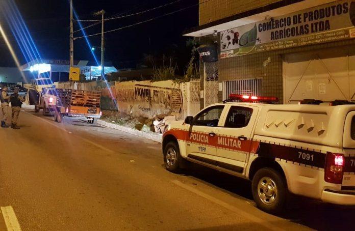 Presa em Sumé quadrilha acusada de tentativa de latrocínio no Pernambuco