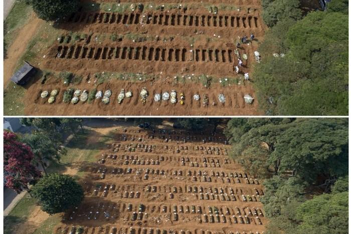 Maior cemitério da América Latina enterra 1.654 pessoas em abril