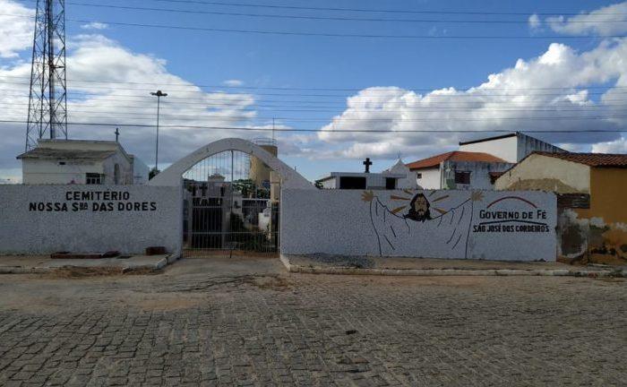 Prefeitura de São José dos Cordeiros decide manter fechado o cemitério público neste domingo
