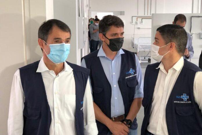 Inaugurado Hospital de Campanha com 20 leitos de UTI em CG