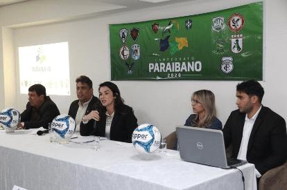 Clubes discutem retorno do futebol paraibano na sede da FPF