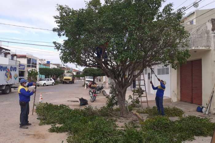 Prefeitura de Monteiro realiza ações de infraestrutura e revitaliza praças do município