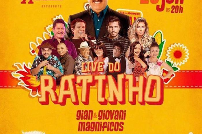 Banda Magníficos é atração confirmada na Live do Ratinho, na noite desta sexta-feira