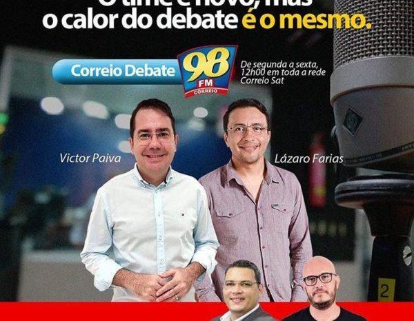 CARIRI EM ALTA: Ao lado de Víctor Paiva, Lázaro Farias passa a integrar bancada do Correio Debate