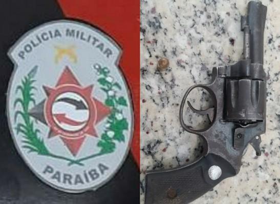 Polícia apreende arma de fogo e detém dois suspeitos no Cariri