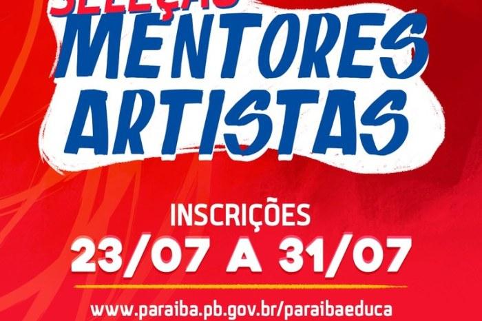 """""""Arte em Cena Digital"""" seleciona 80 artistas para mentorias com alunos da Rede Estadual"""