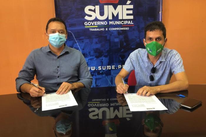 Loteamento firma parceria com a Prefeitura de Sumé para execução de obra de calçamento