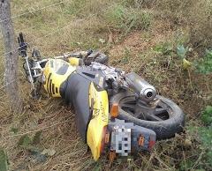 Homem morre vítima de acidente de moto entre Monteiro e Sertânia