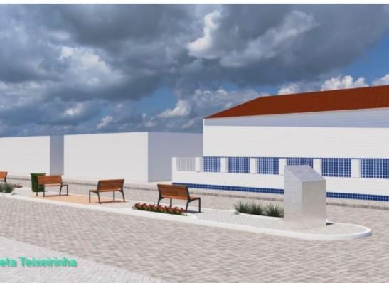 Com recursos próprios, prefeitura de Ouro Velho realiza reforma da Praça Zé de Lídia