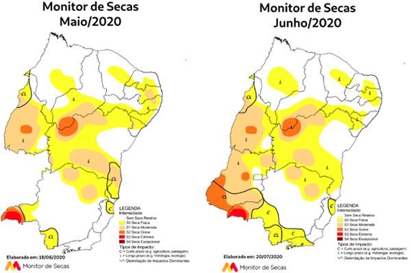 Paraíba alcança mais de 60% de áreas sem seca em 2020, diz ANA