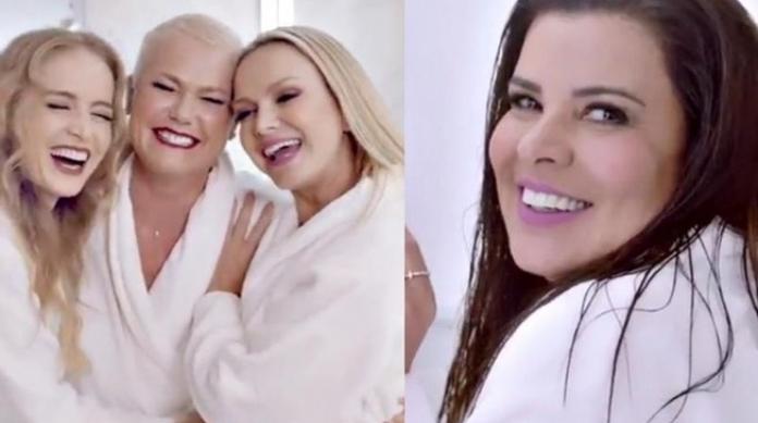 Mara fala sobre Angélica e grupo de WhatsApp com Xuxa e Eliana